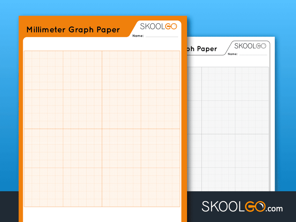 Free Worksheet for Kids - Millimeter Graph Paper - SKOOLGO